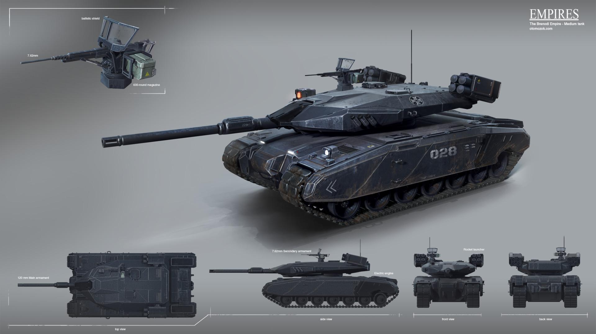Arthur gurin bempire medium tank