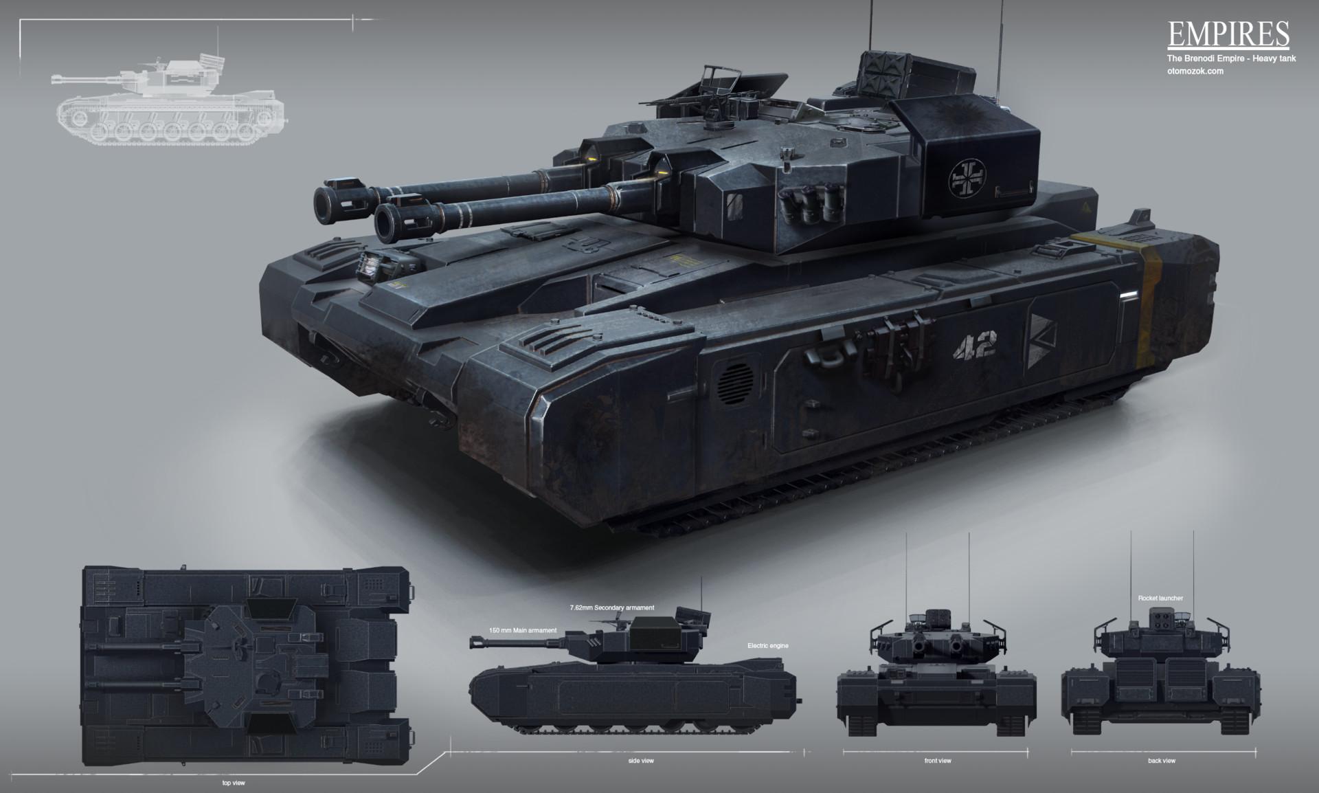 Arthur gurin bempire heavy tank