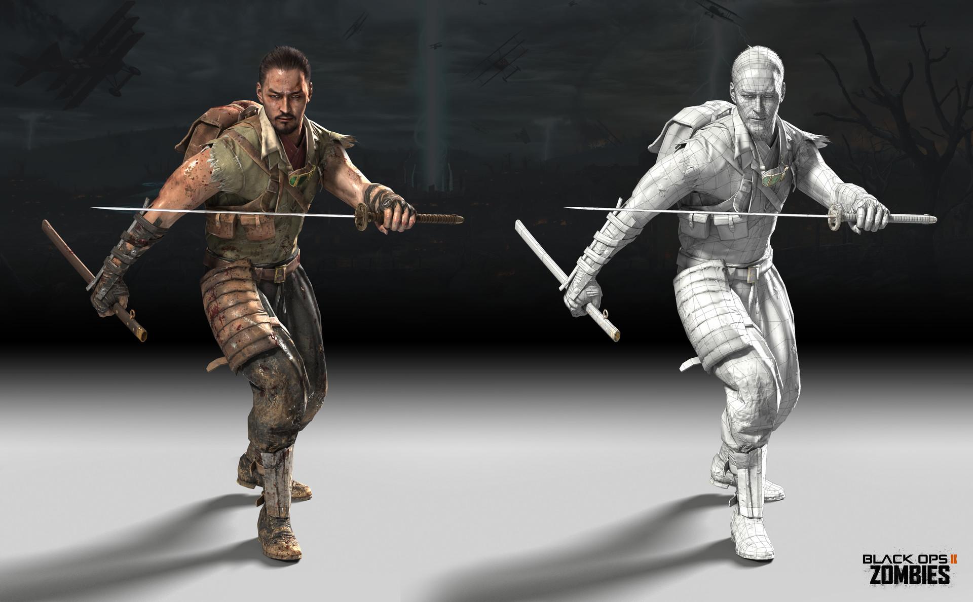 Mike Curran Takeo Masaki Call Of Duty Black Ops 2 2013