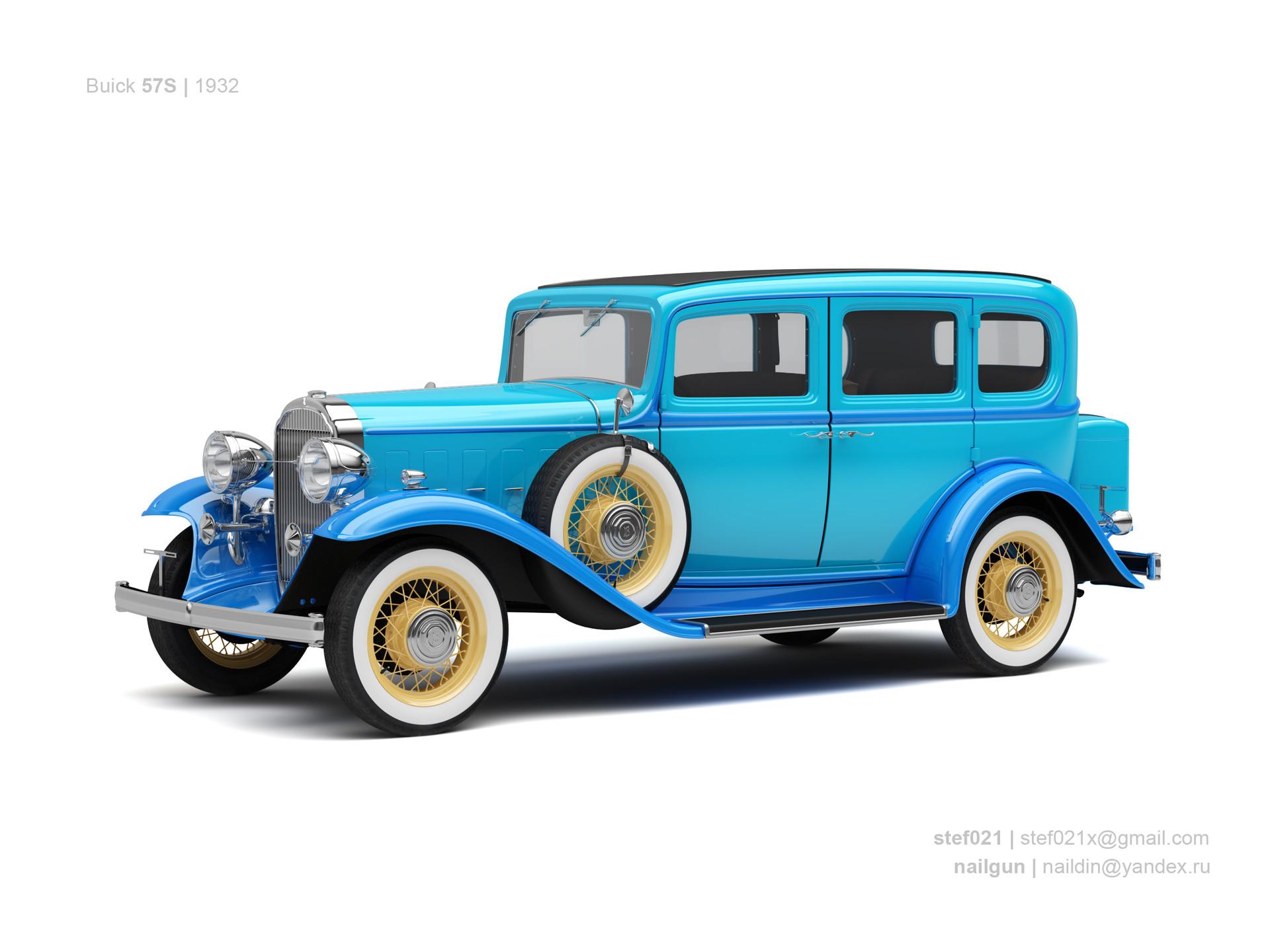Nail khusnutdinov usa buick 57s 1932 0