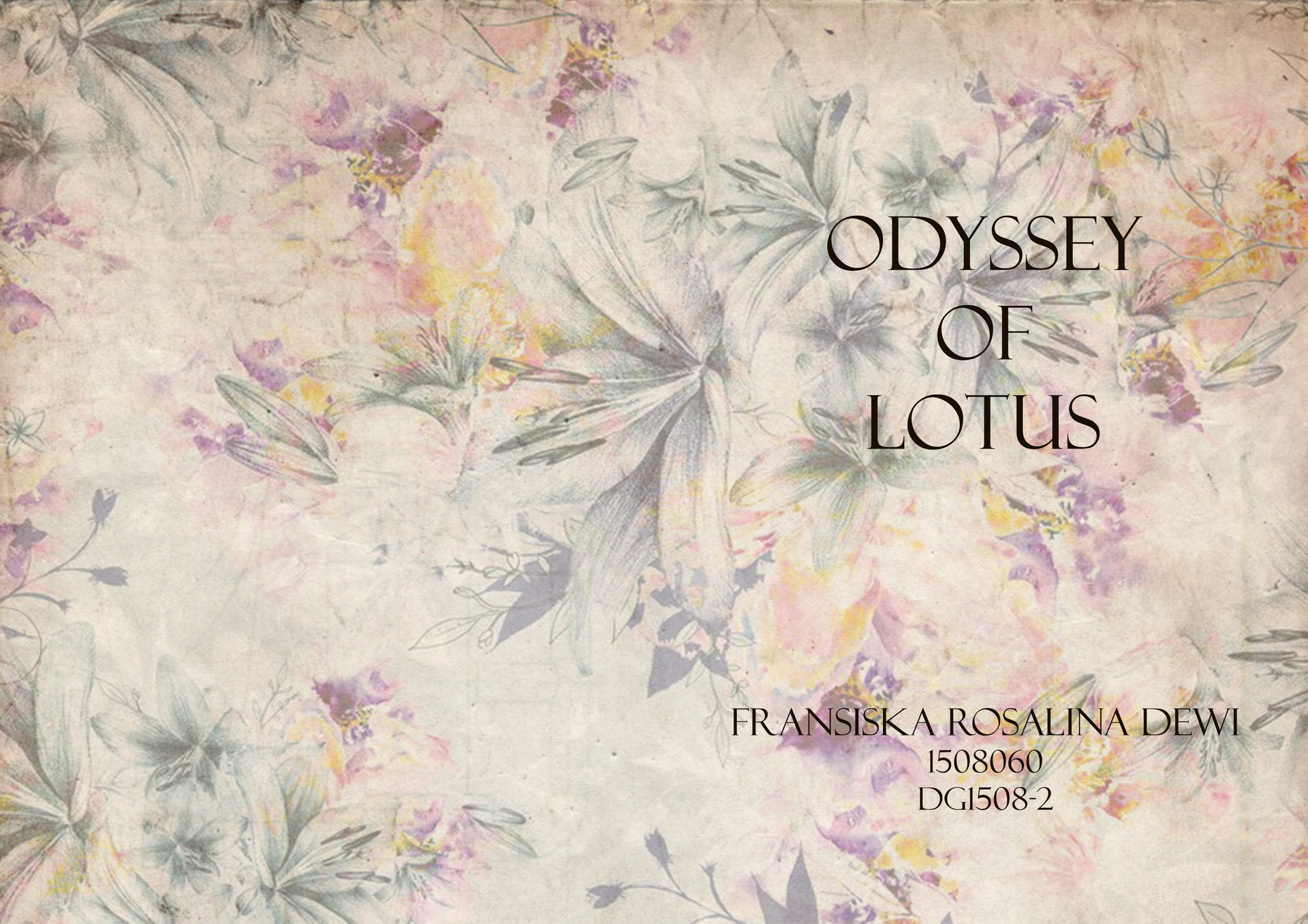 Fransiska rosalina dewi odyssey of lotus xavier francis 1 cover izmirmasajfo