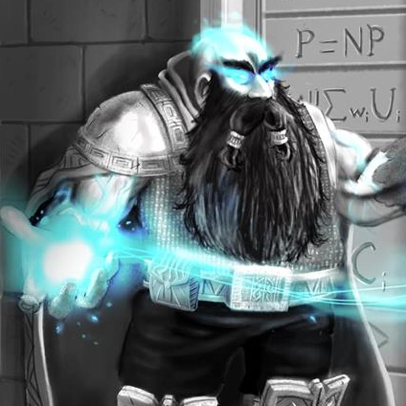 Krig Deepholm - Dwarf Cleric