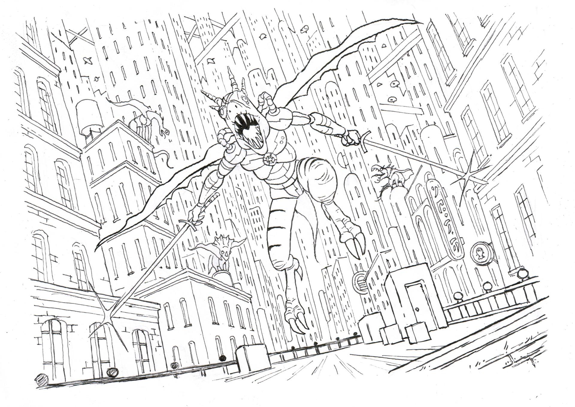 Jim bryson drawing
