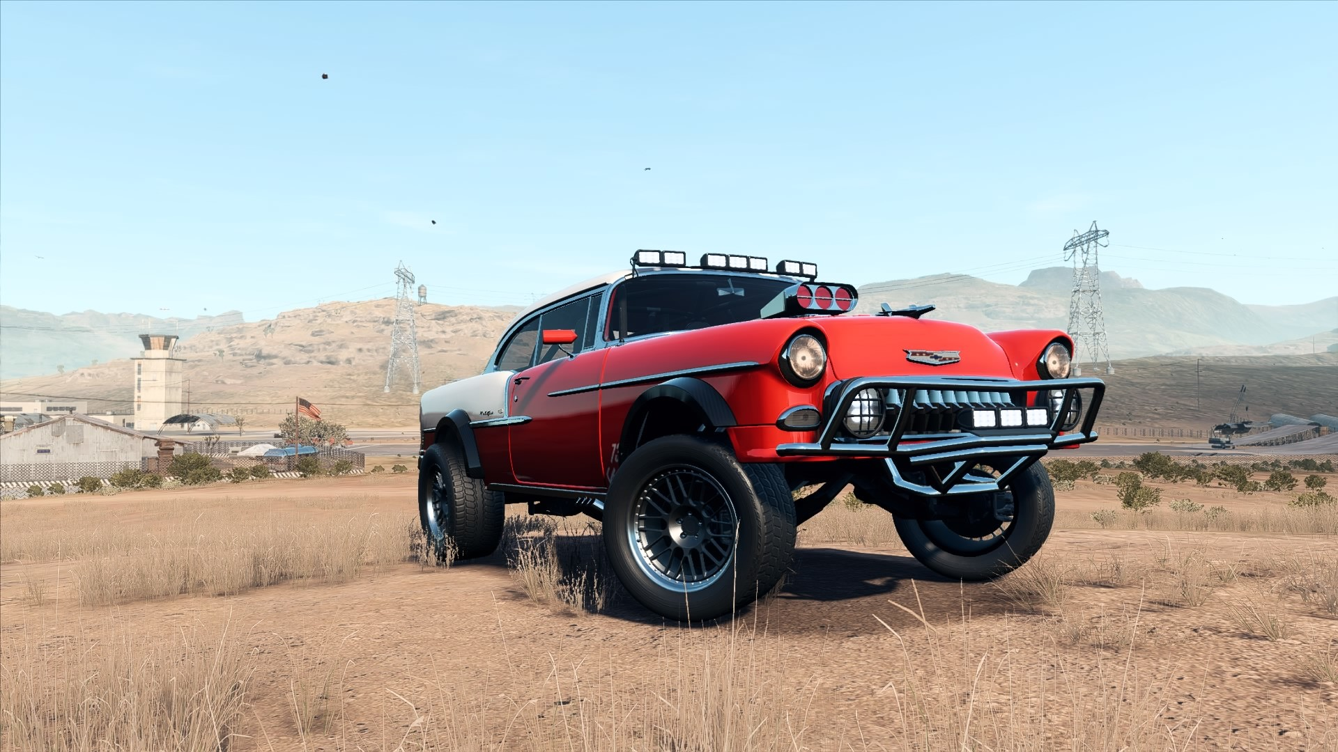 ArtStation - NFS: Payback, Chevy Bel Air Derelict Super Build, The
