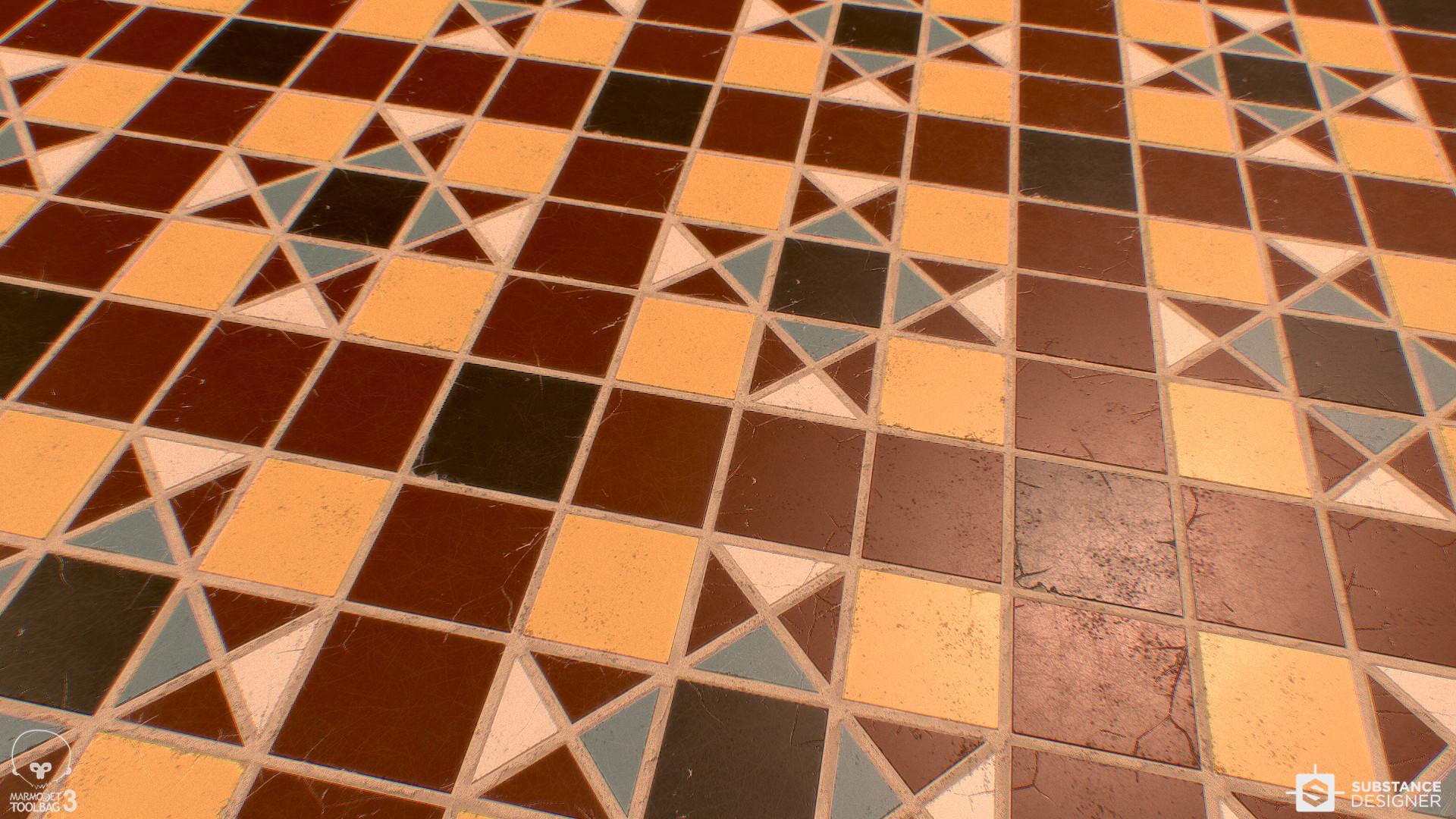 Monica espinoza victorian tile floor monica espinoza victorian tile plane dailygadgetfo Image collections