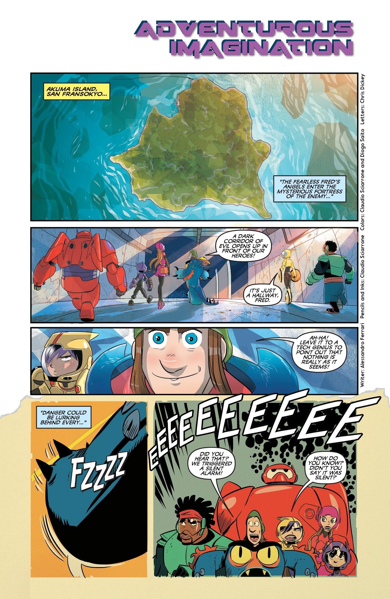 Big Hero Comic artstation - walt disney big hero 6 prequel stories pages