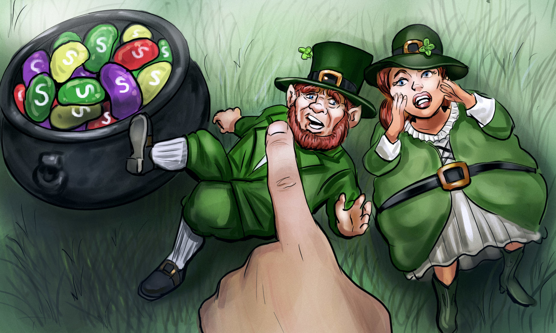 Stephen noble leprechaun