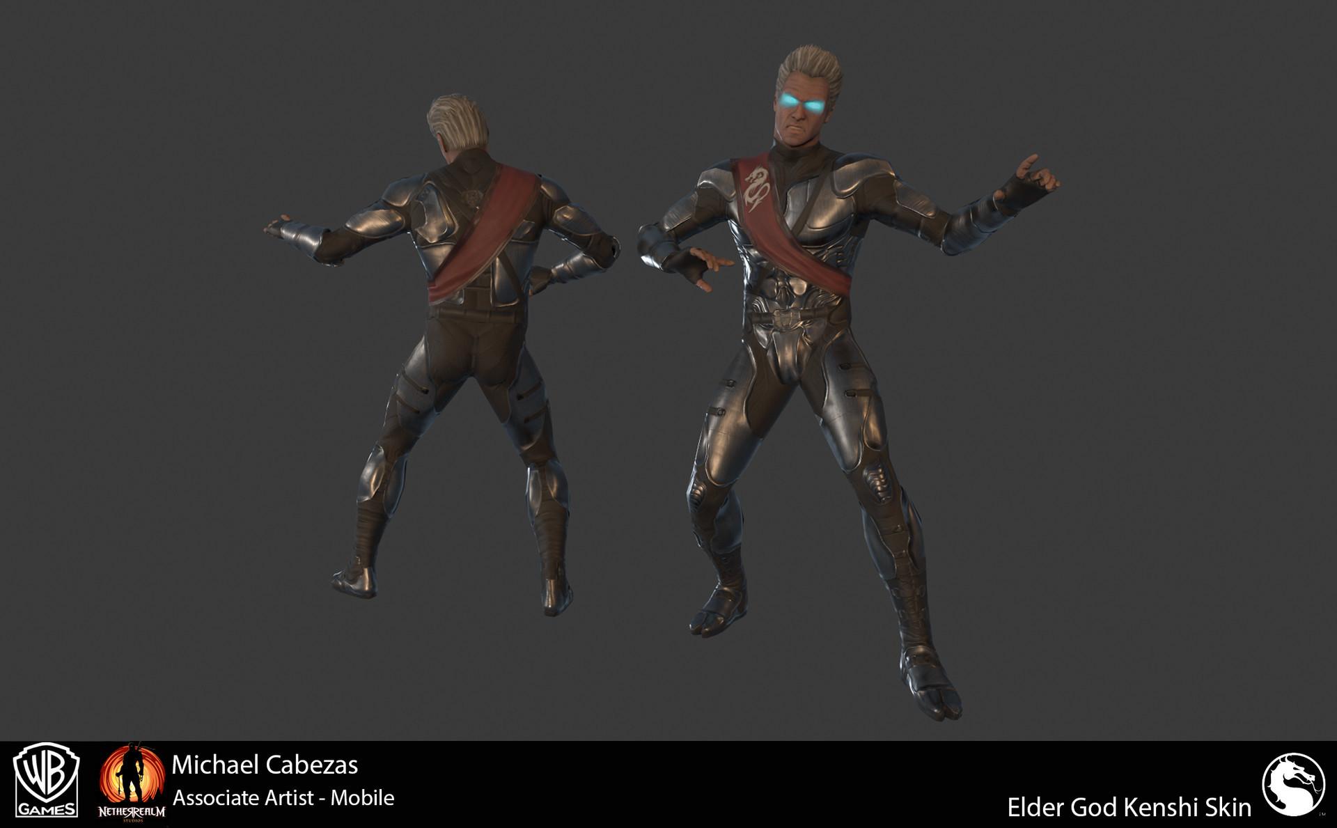 Michael Cabezas - Character Work Injustice 2, Mortal Kombat X