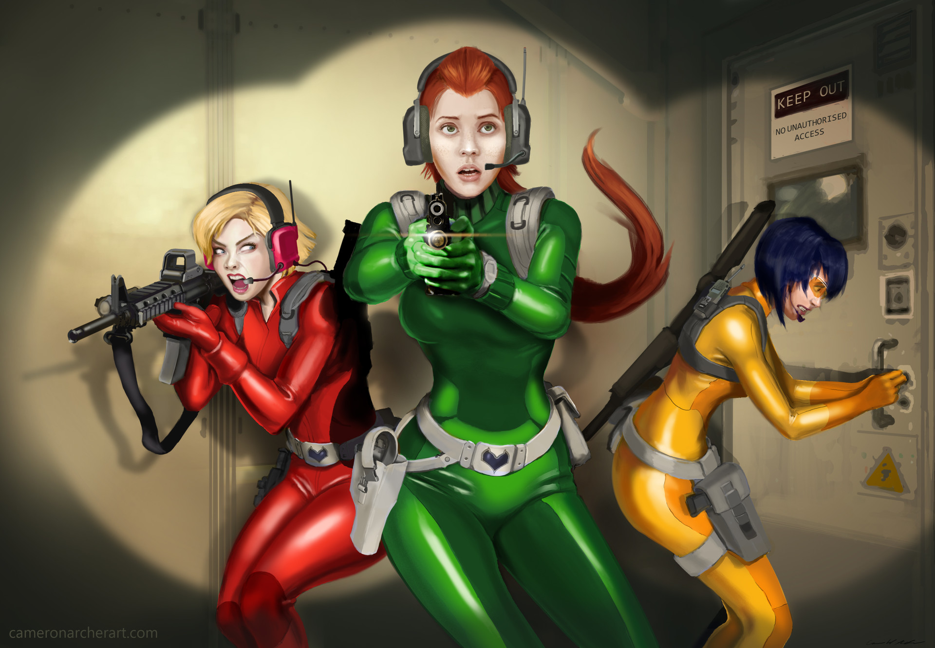 Totally spies latex