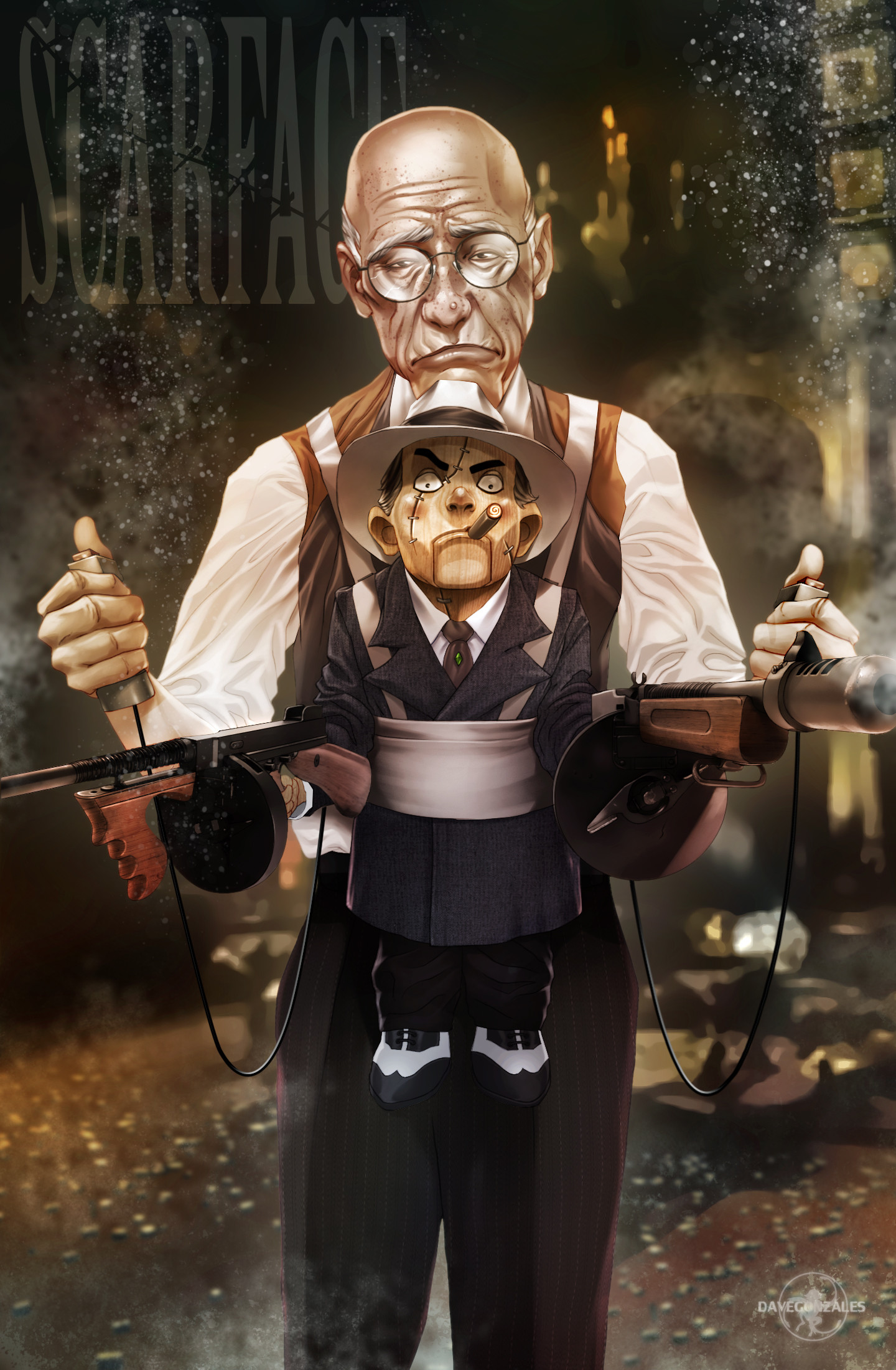 ArtStation - The Ventriloquist, Christian Dave Gonzales