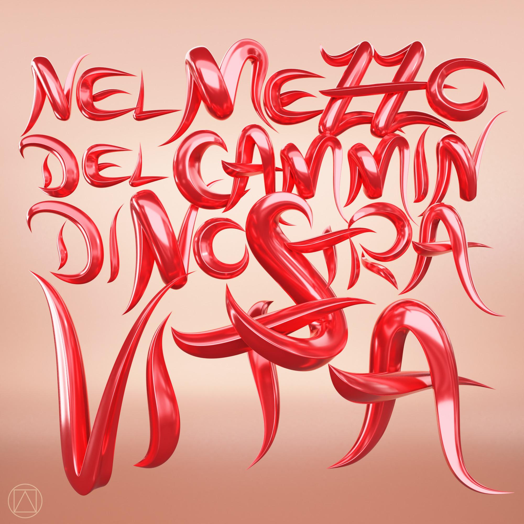 """Nel mezzo del cammin di nostra vita - Quote from Dante's """"Divina Commedia"""""""