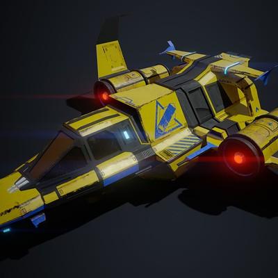 Mate varga spaceship 01 1