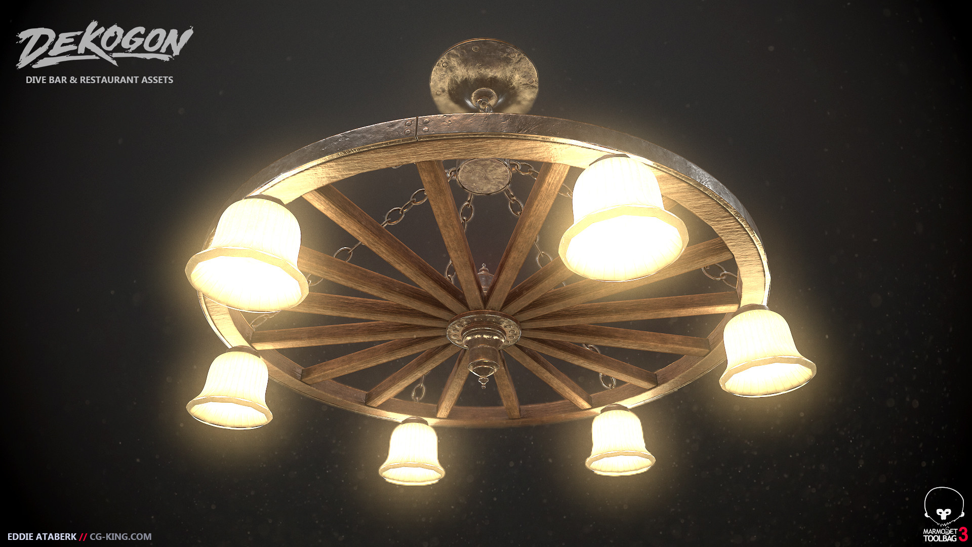 Artstation wagon wheel chandelier eddie ataberk arubaitofo Images