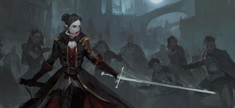 Benjamin ee vampire swordmaster 3