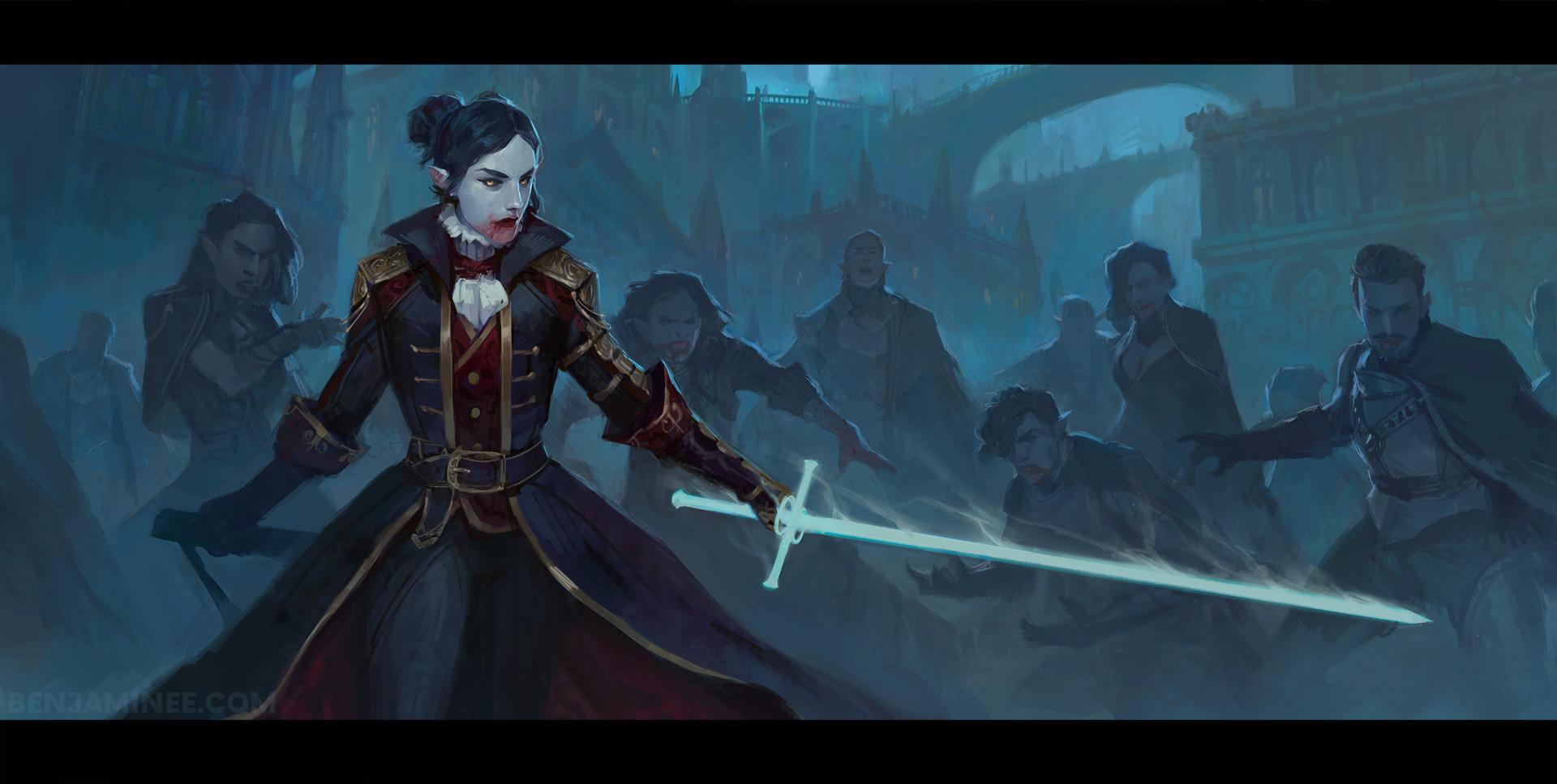 Benjamin ee vampire swordmaster 5