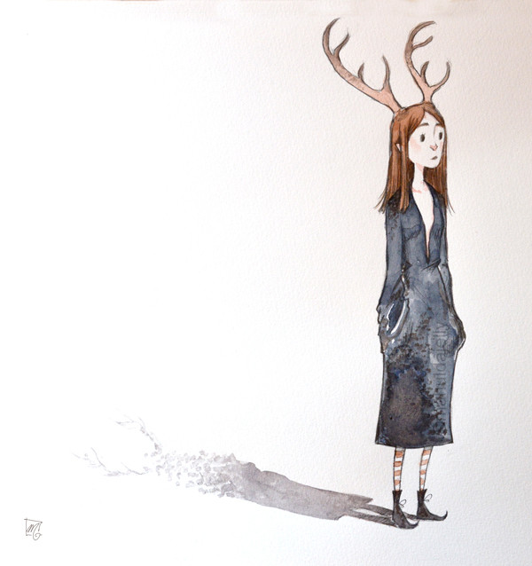 Deer girl