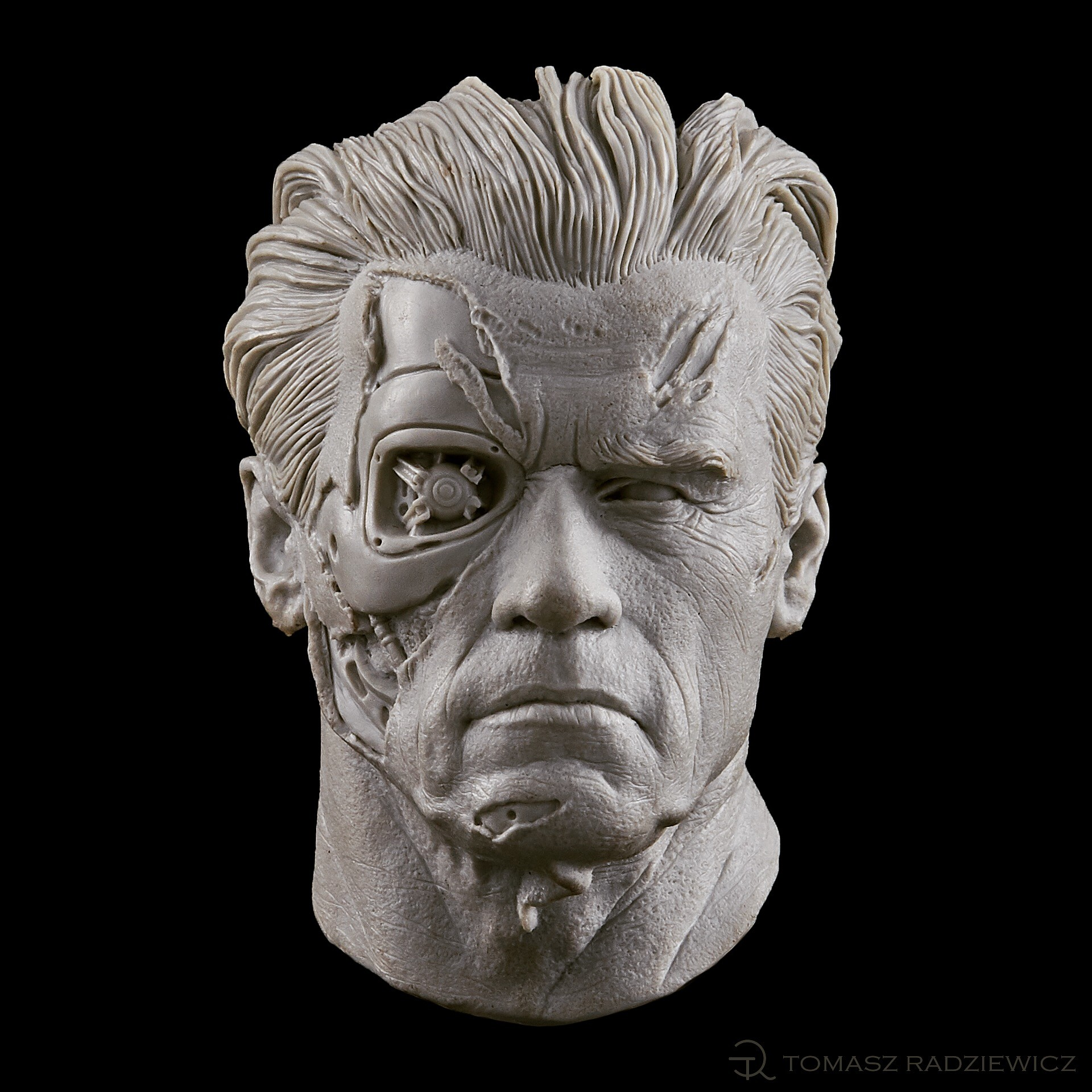 Terminator/cast resin/45mm