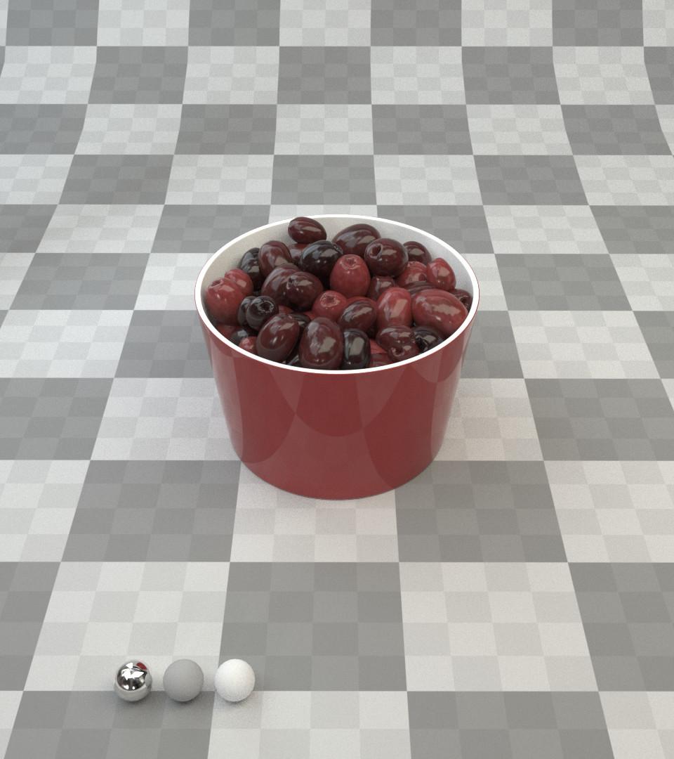 Milush manimendra lookdev olive redshift
