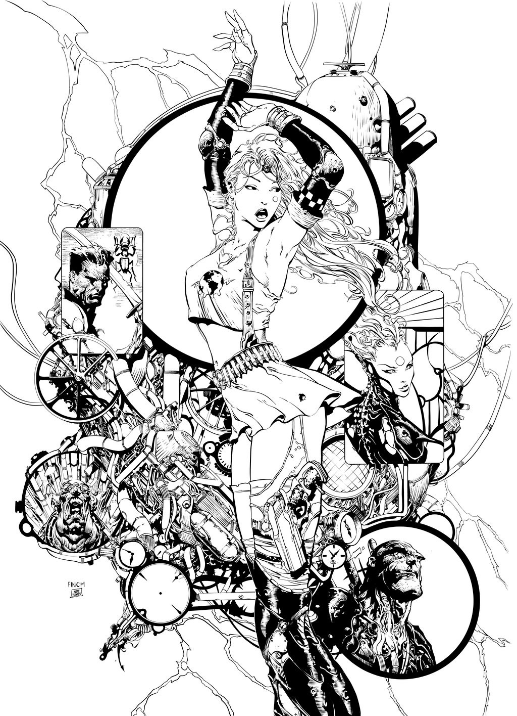 Matt james aphrodite ix inks by snakebitartstudio dc20z8r