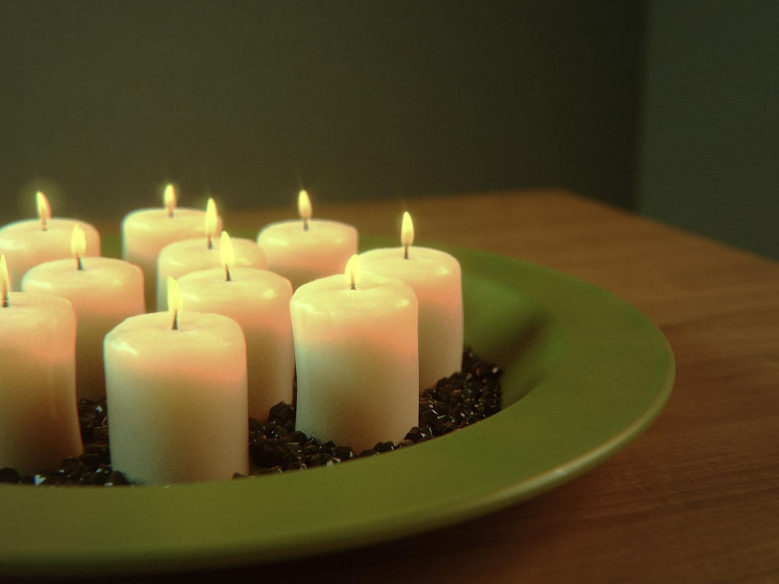Dani palacio candles