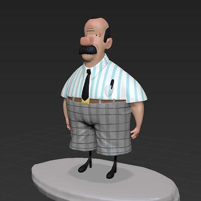 Dermot walshe dutchman 3d doodle00