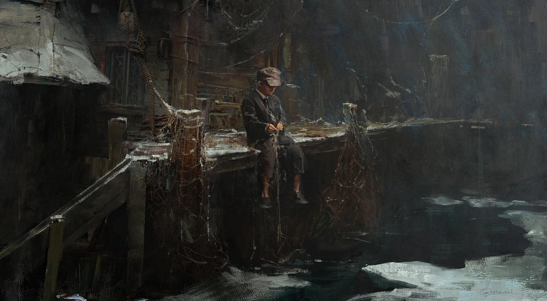 Greg rutkowski fisherman boy 1500