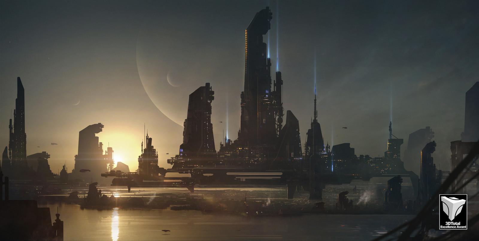 Sci fi City.v001