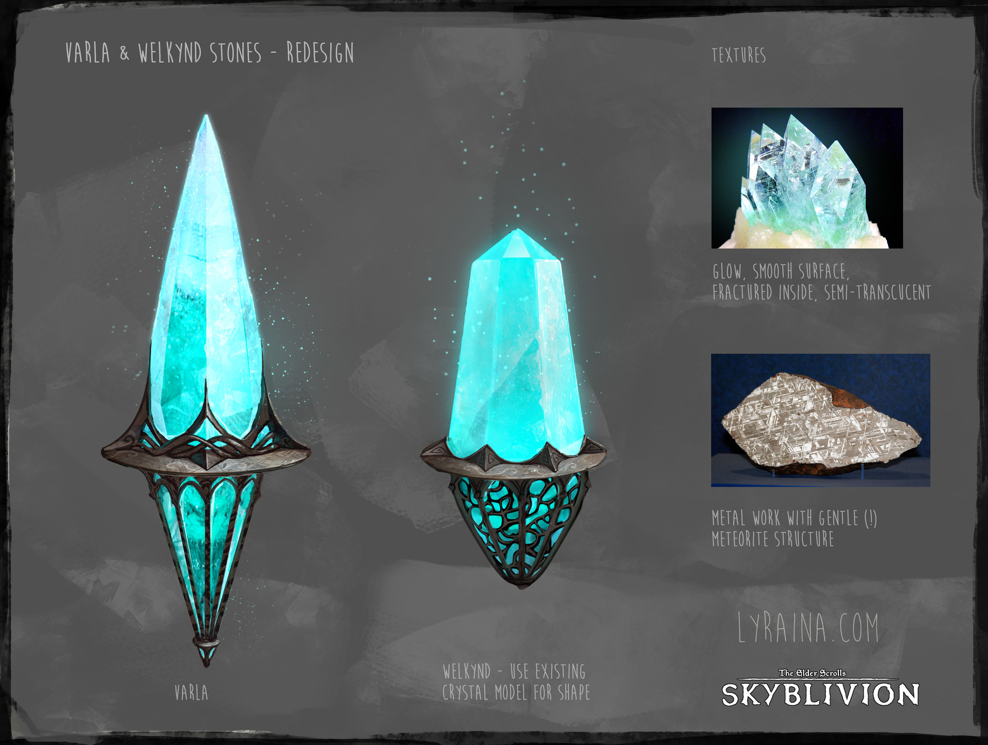 Varla & Welkynd Stone redesign - final approved designs.