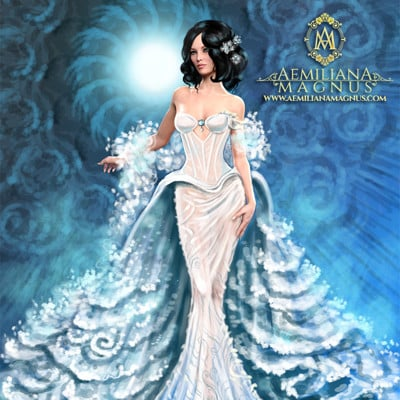Aemiliana magnus aemiliana magnus bridal gown 2018