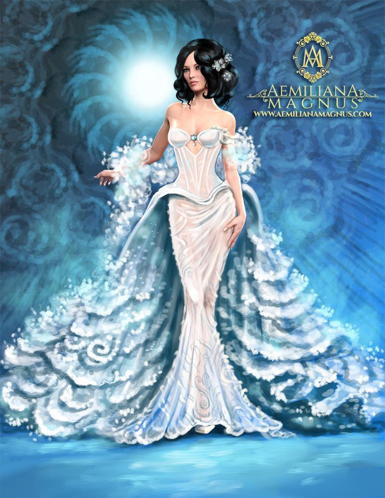 Luxury Bridal Gown Design by Aemiliana Magnus