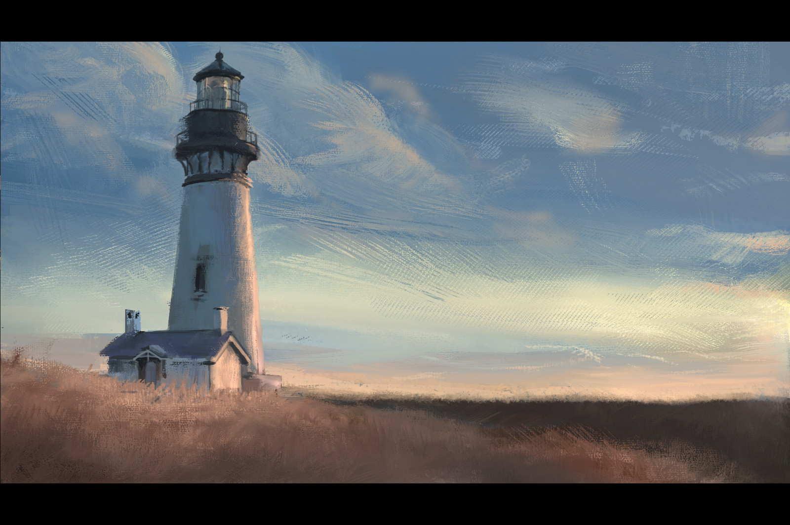 Lighthouse Stylized Color Studies