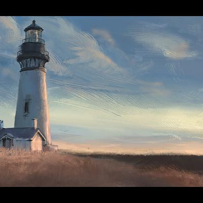Dennis van kessel lighthouse sunset 02
