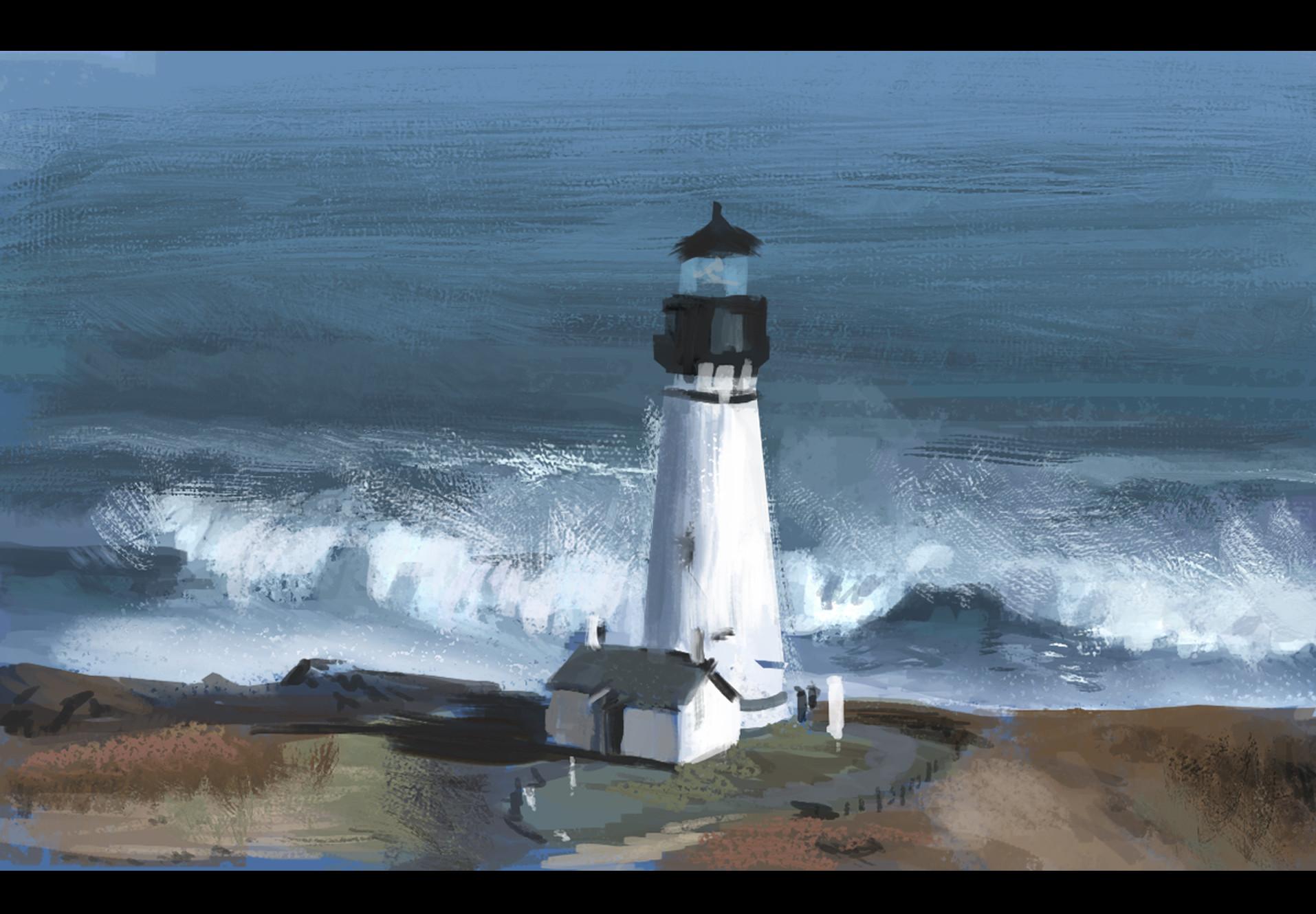 Dennis van kessel lighthouse study 01