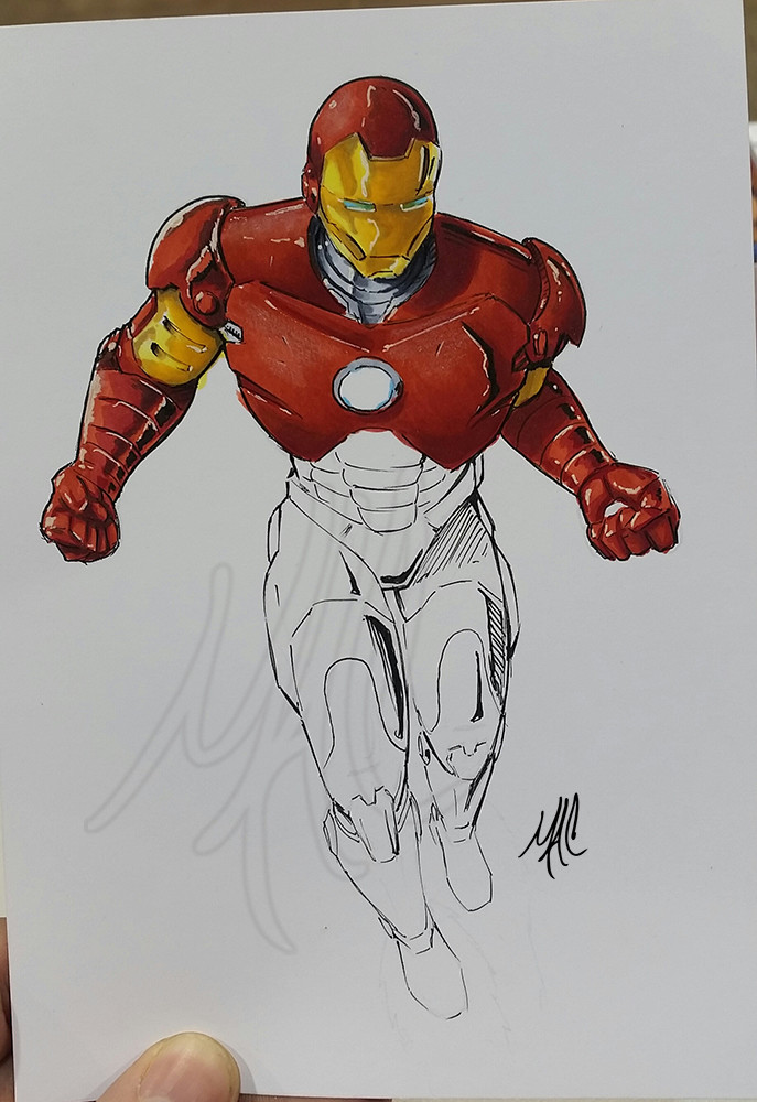 Matt campbell art ironman