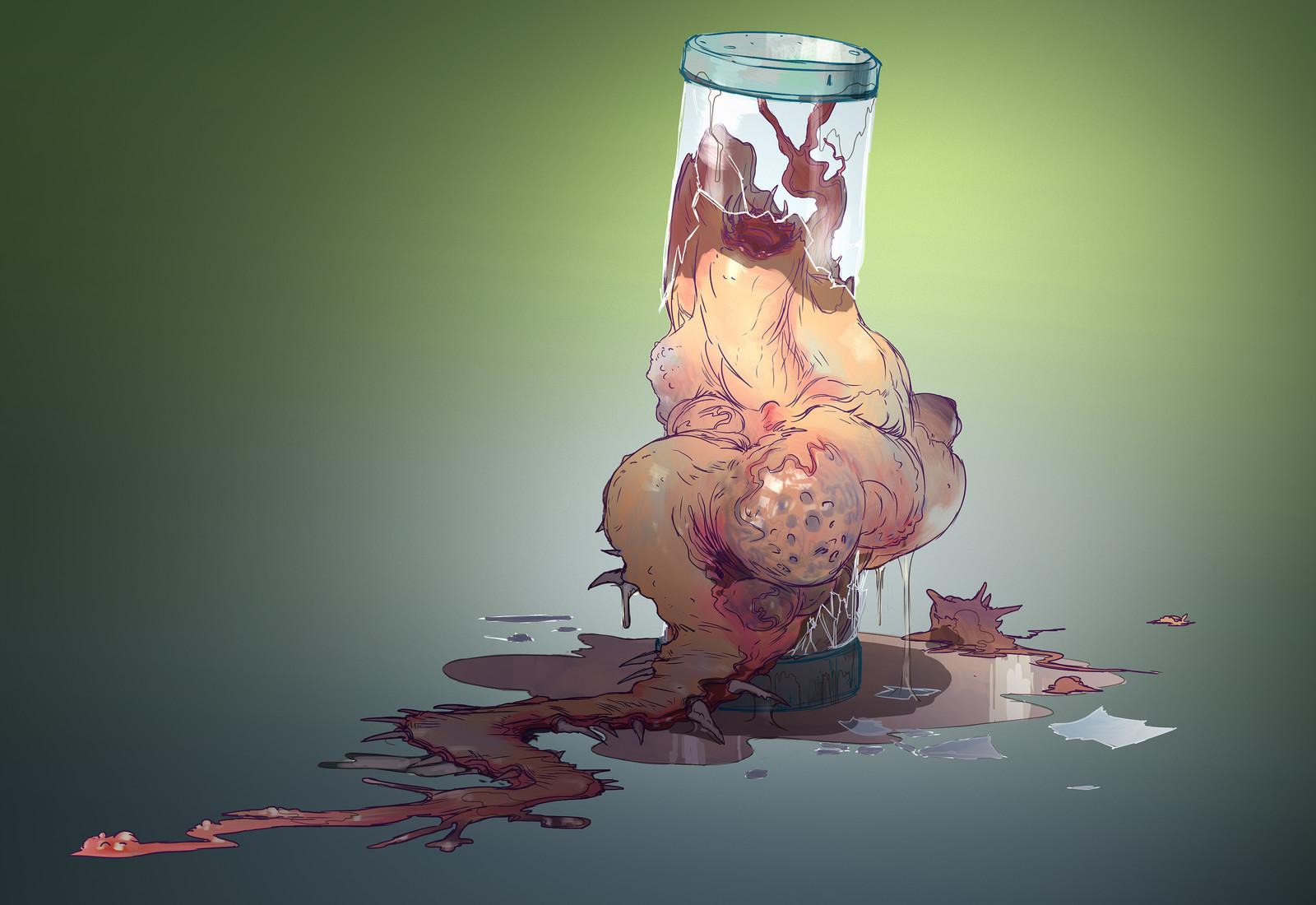 Broken Vial