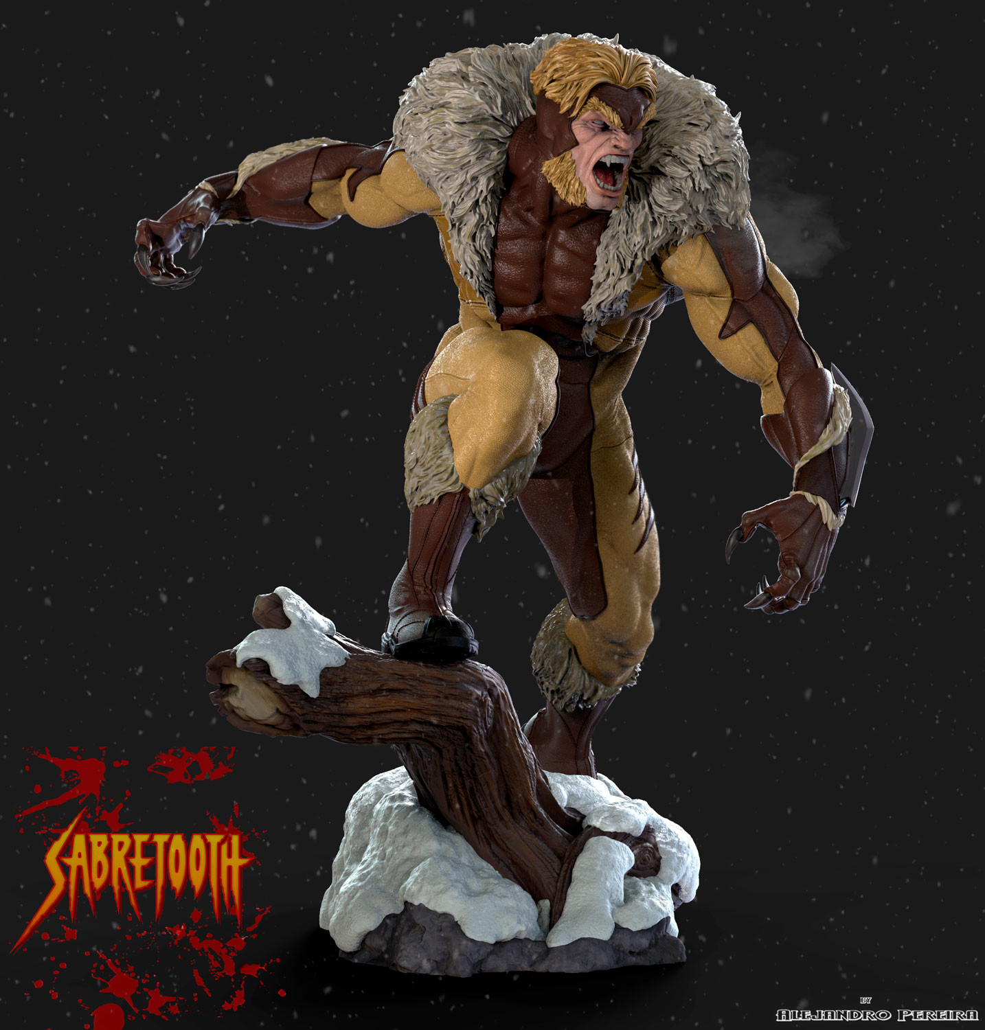 Alejandro pereira sabretooth color 01