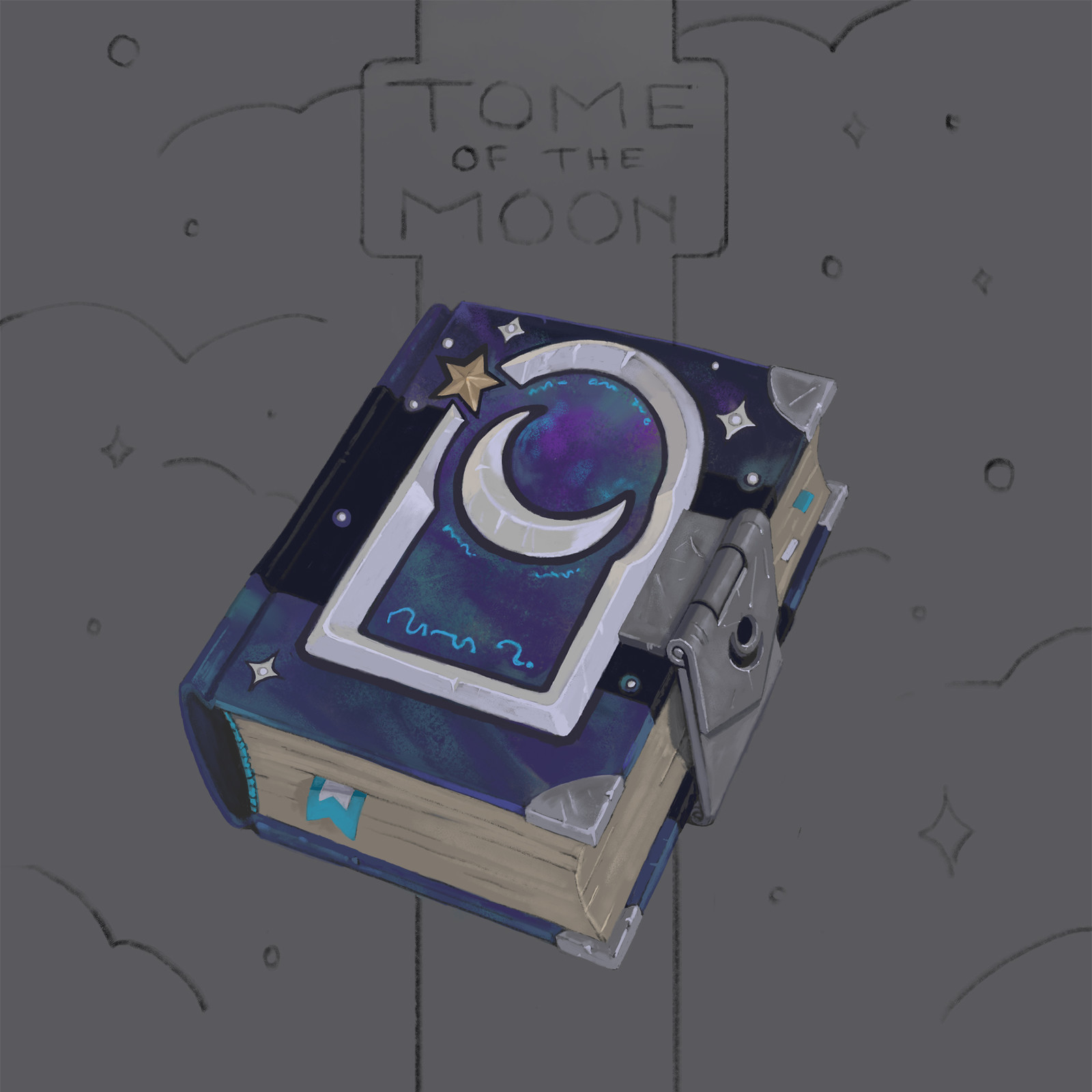 The tome of the moon.
