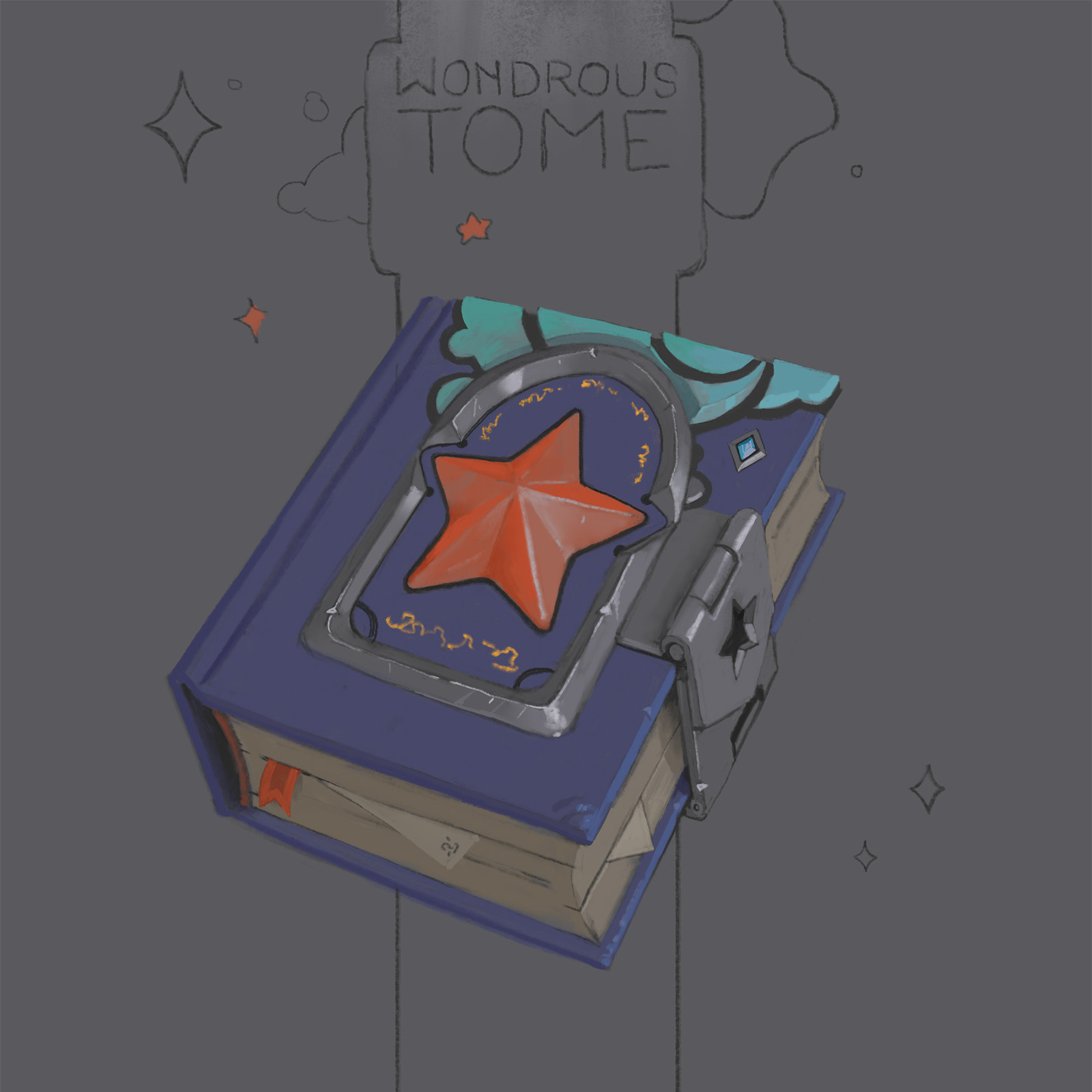A wondrous tome of the stars.