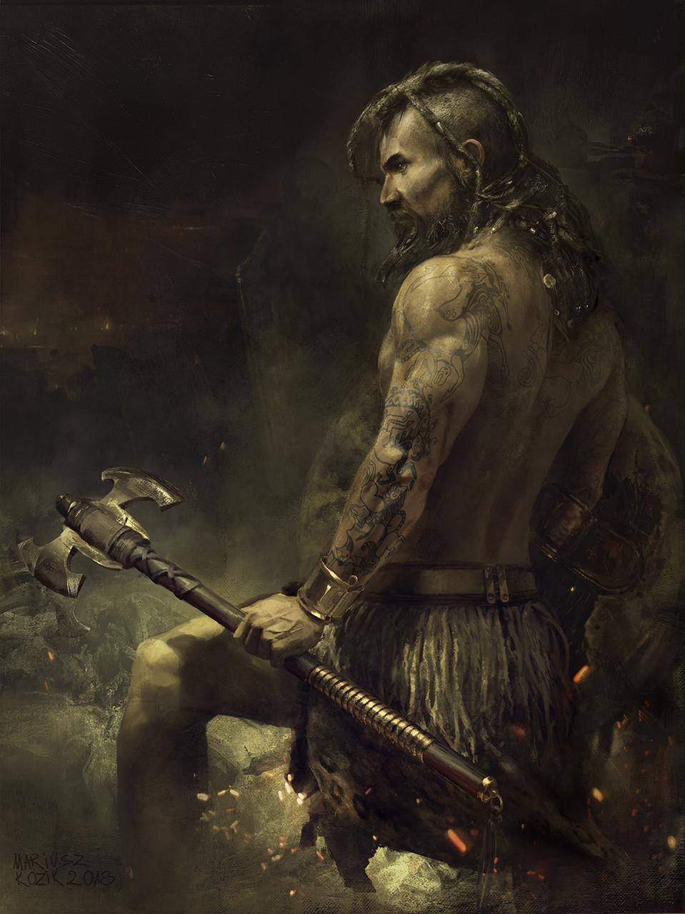 Mariusz kozik myk warrior final z 000art 03