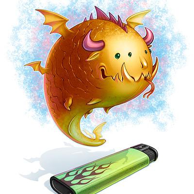 Andrey kamenov dragon lighter fairy 02