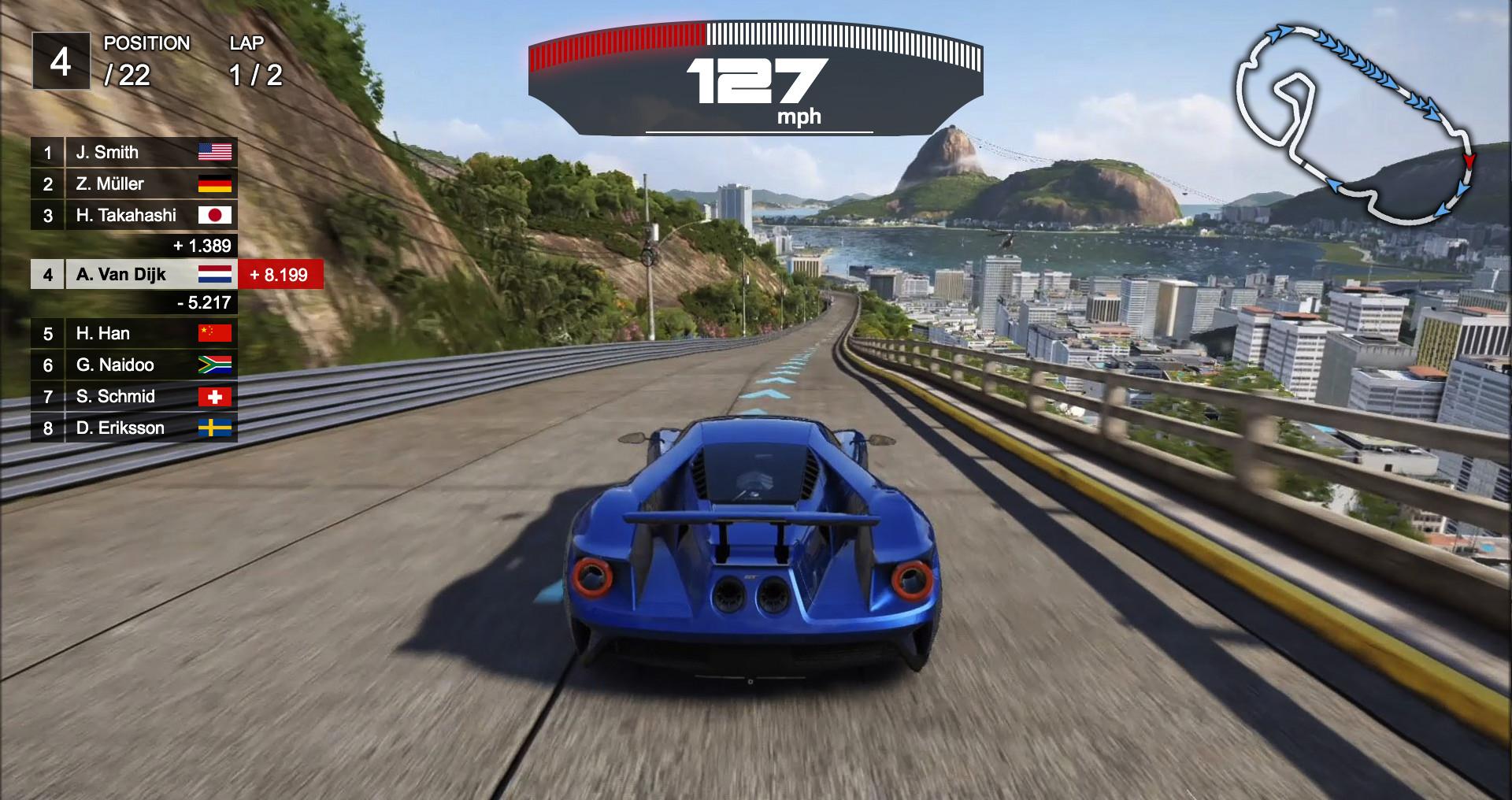 ArtStation - UI-Racing Game, Joey Zhang
