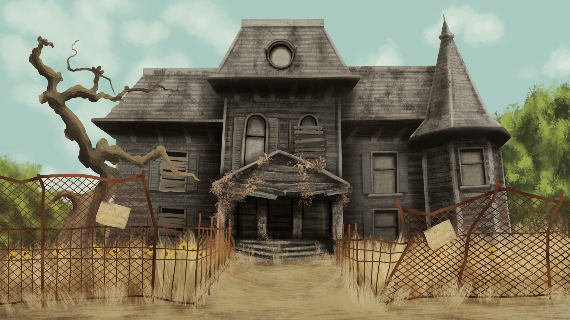 Neibolt House Background Art