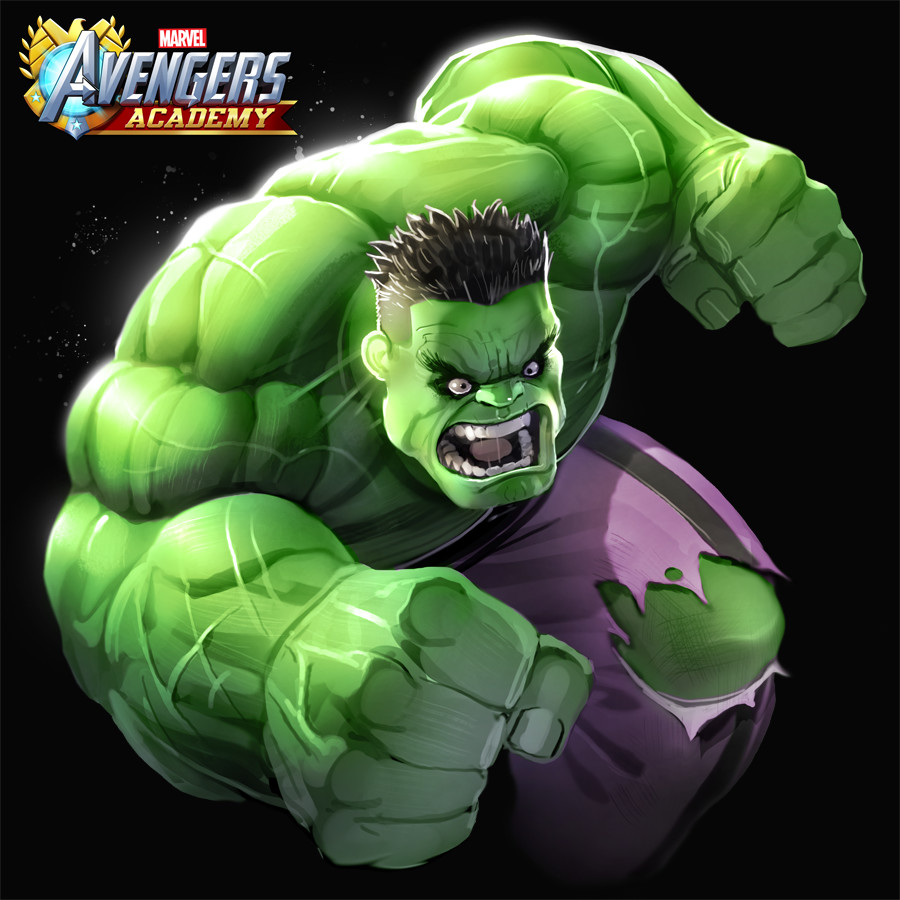 Hulk detail.