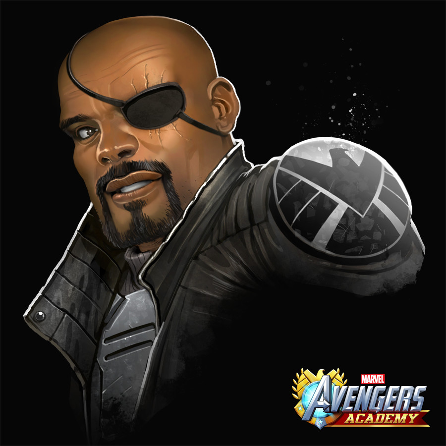 Nick Fury detail.