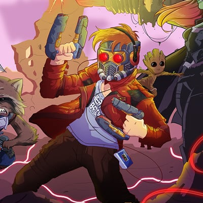 Dan velez guardiains of the galaxy vol 2 smaller
