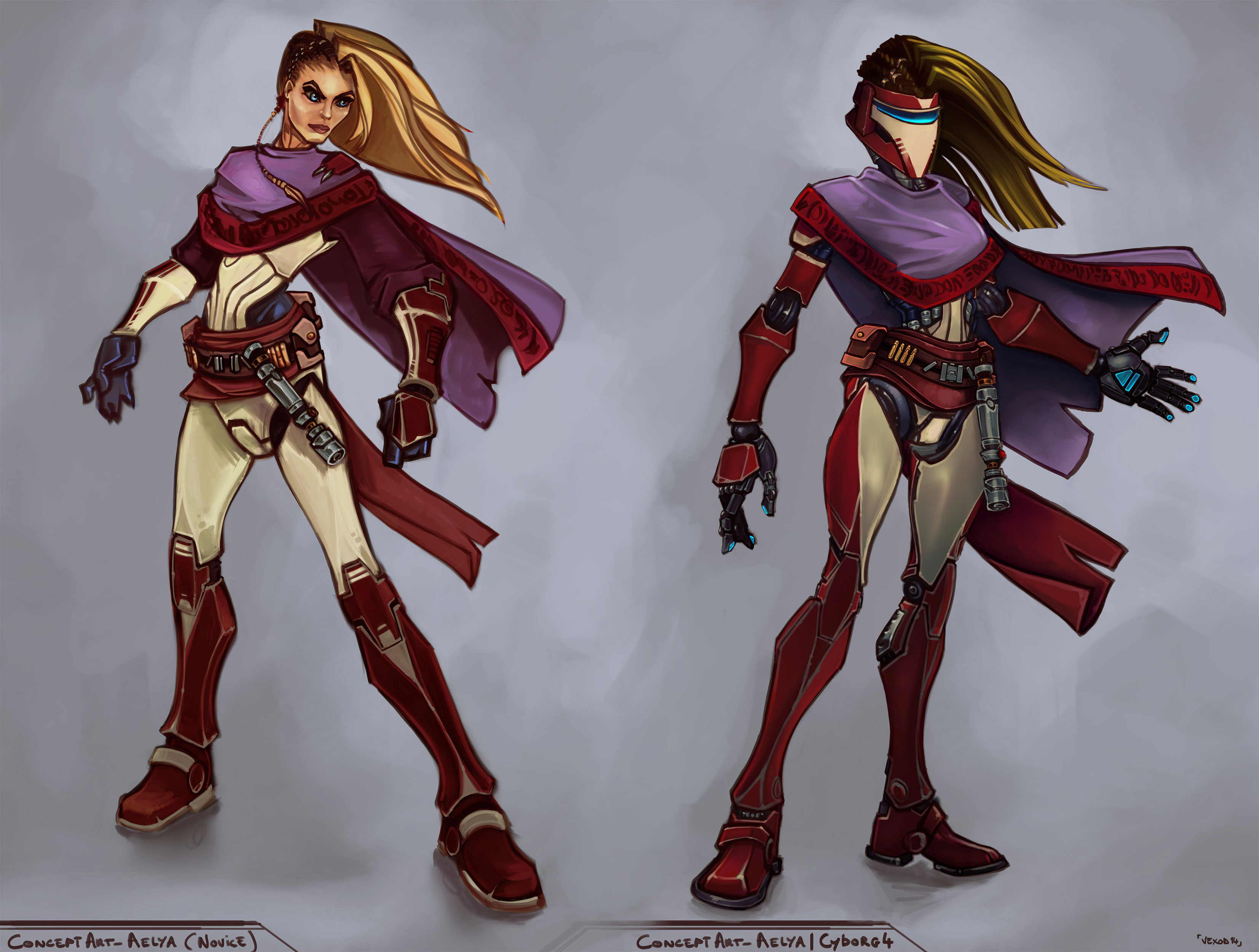 Aelya - final design