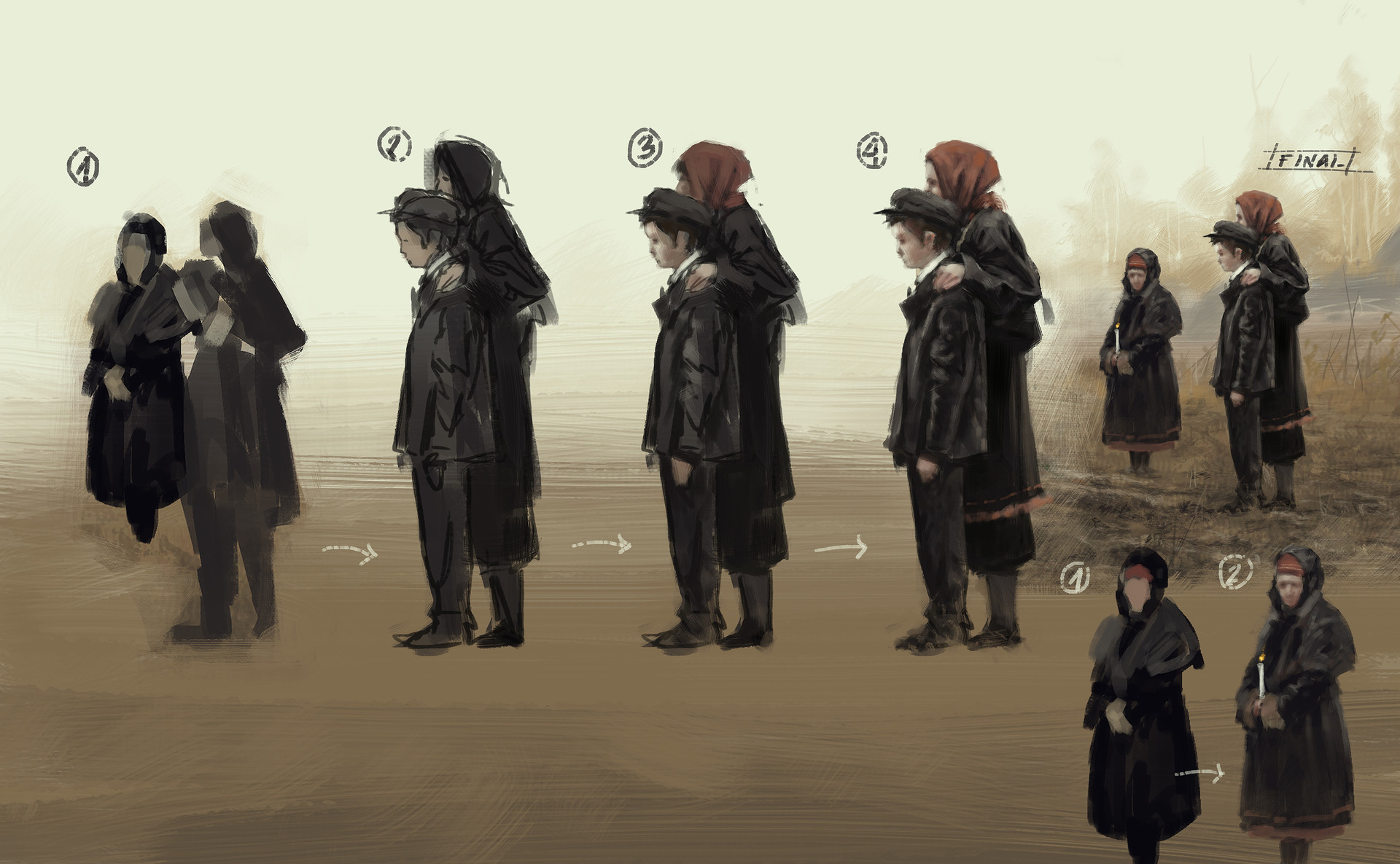 Jakub rozalski pride of glory process2