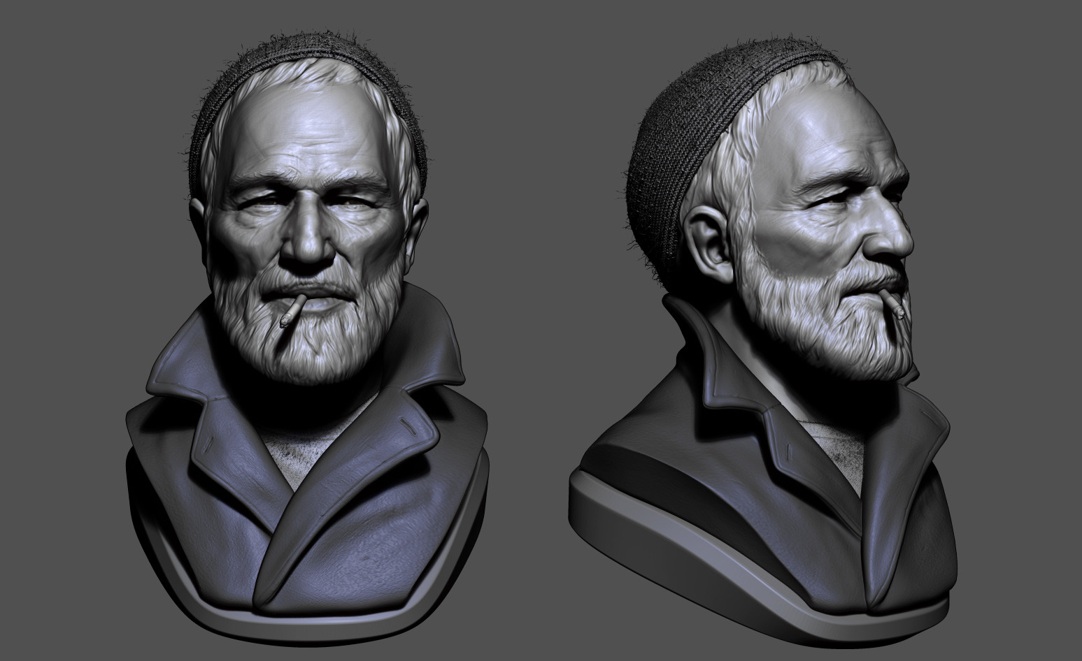 Omar chaouch bust sculpt omar chaouch 02