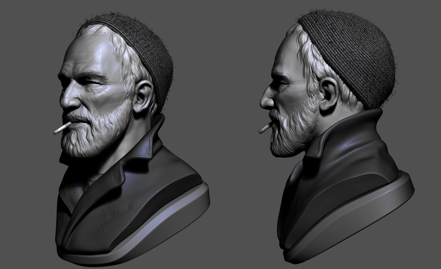 Omar chaouch bust sculpt omar chaouch 03