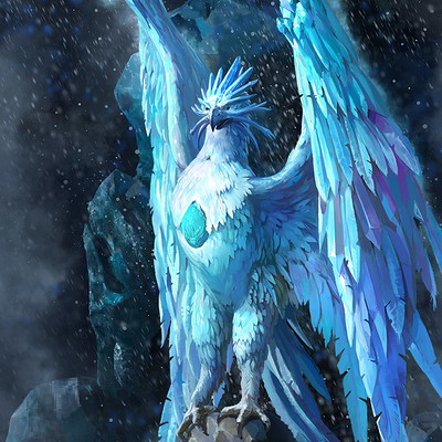 Grafit studio phoenix of ice
